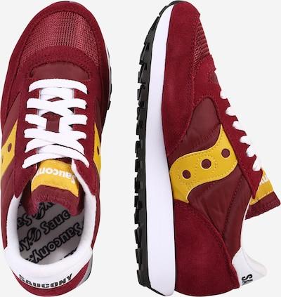 saucony Sneakers 'JAZZ ORIGINAL VINTAGE' in gelb / blutrot: Seitenansicht
