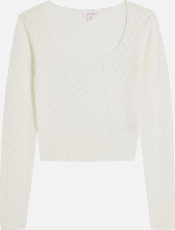 Miss Selfridge Pullover in creme, Produktansicht