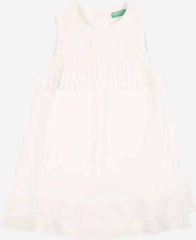UNITED COLORS OF BENETTON Obleka | bela barva, Prikaz izdelka
