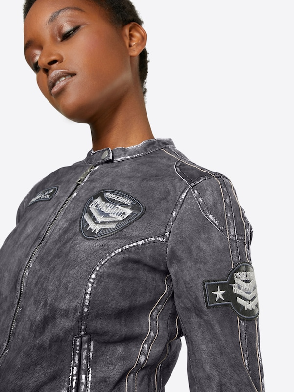 FREAKY NATION Lederjacke FAST`N FURIOUS 1