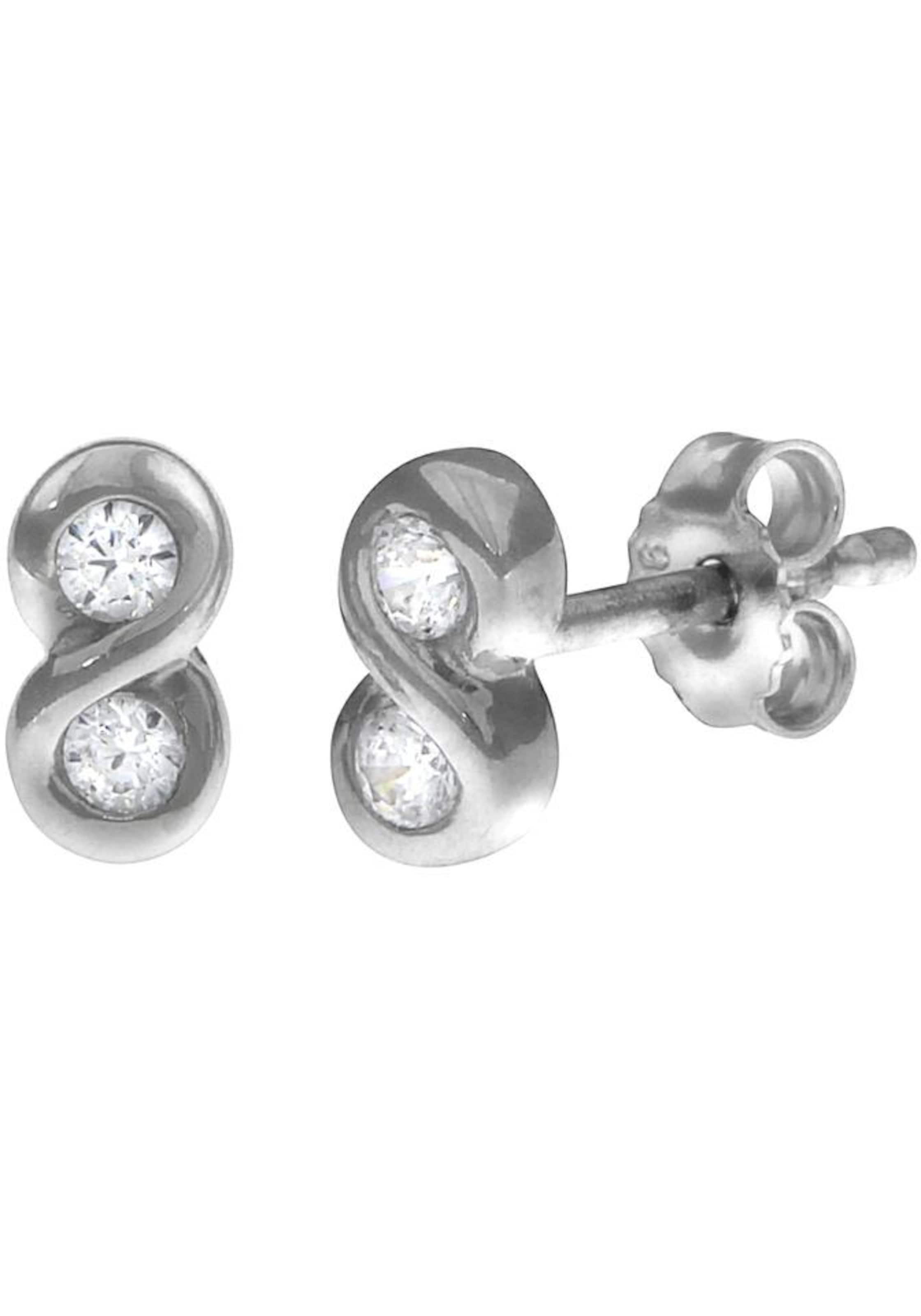 'infinity' Ohrstecker Silber In Paar Firetti 5L4jR3A