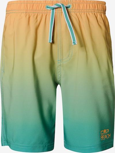 CMP Badeshorts in blau / grün / orange, Produktansicht