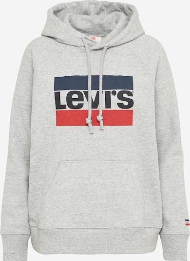 LEVI'S Sweatshirt 'GRAPHIC SPORT HOODIE' in graumeliert, Produktansicht