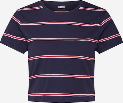 Urban Classics Shirt in navy / rot / weiß, Produktansicht