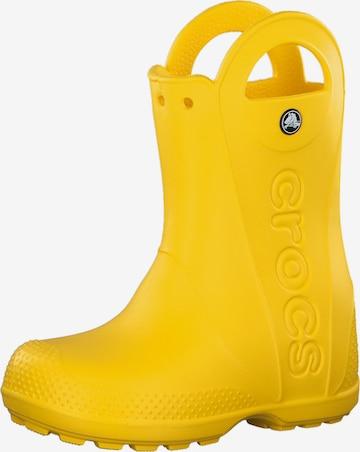 Crocs Gummistövel i gul