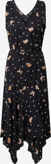 The Kooples Kleid 'ROBE' in goldgelb / schwarz / weiß, Produktansicht