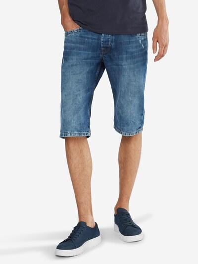 Pepe Jeans Jeans-Shorts 'Cash' in blue denim: Frontalansicht