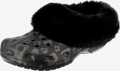 Crocs Slipper in grau / schwarz, Produktansicht