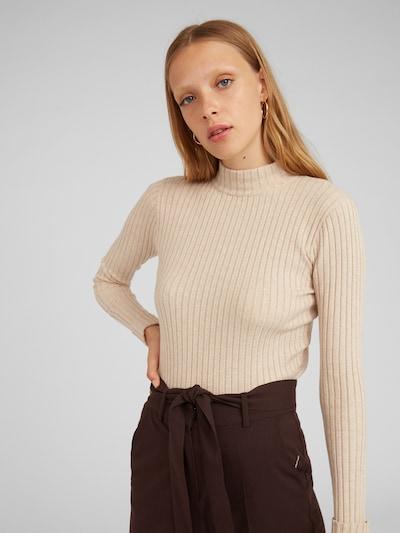 EDITED Pullover 'Jannice' in creme, Modelansicht