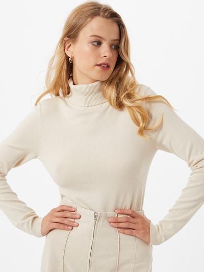 VERO MODA Sweter 'Glory' w kolorze jasny beżm, Podgląd na modelu(-ce)