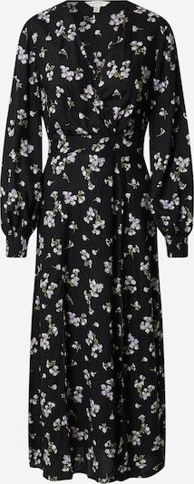 Miss Selfridge Kleid in hellblau / grün / schwarz / weiß: Frontalansicht