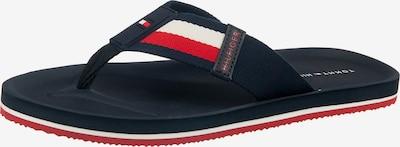 TOMMY HILFIGER Žabky - tmavomodrá / červené / biela, Produkt