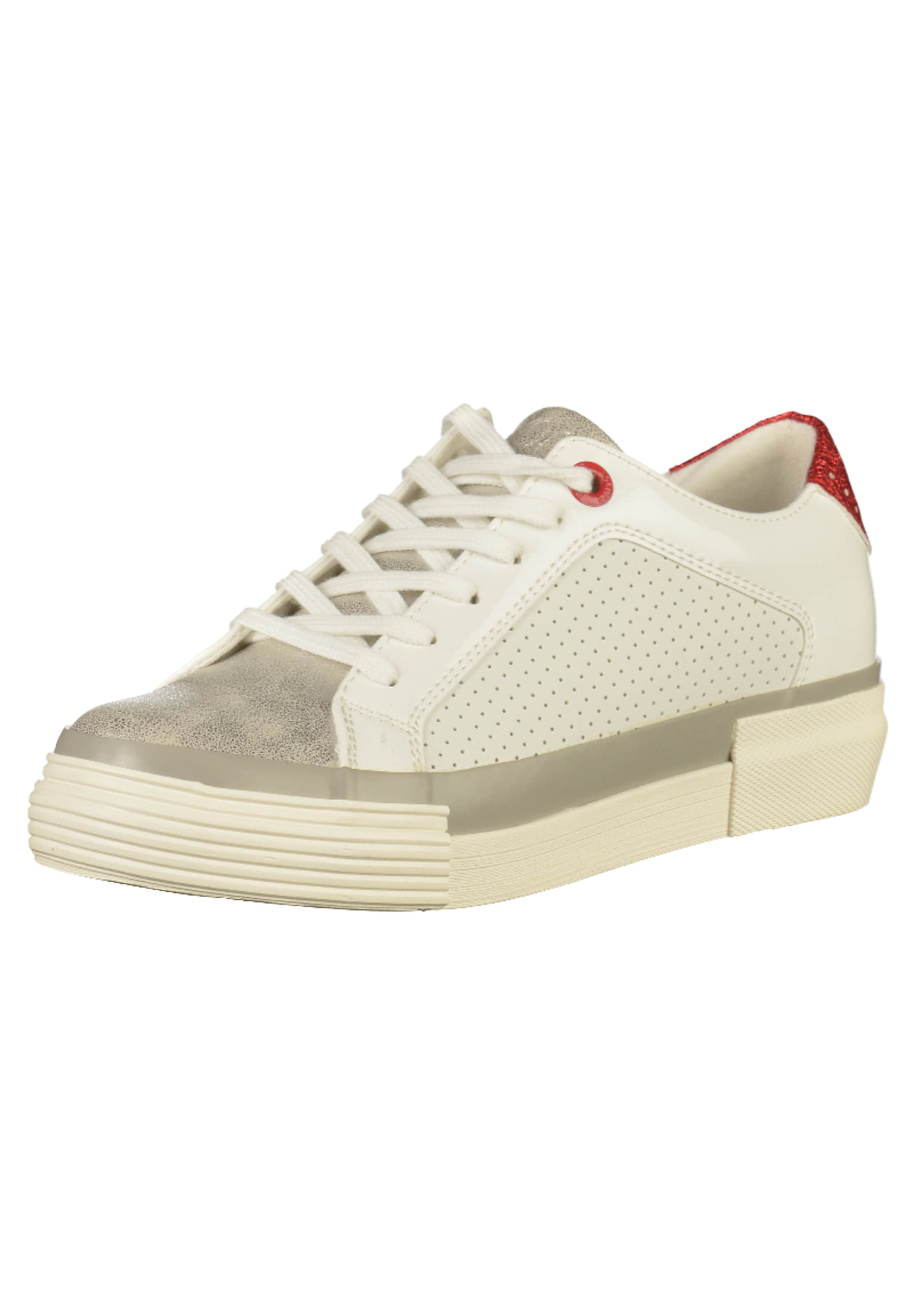 Red oliver RotWeiß S Label Sneaker In ybYf76g