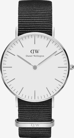 Daniel Wellington Uhr in schwarz / weiß, Produktansicht