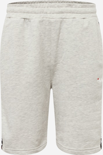 FILA Hose 'Tristan' in grau / rot / schwarz / weiß, Produktansicht