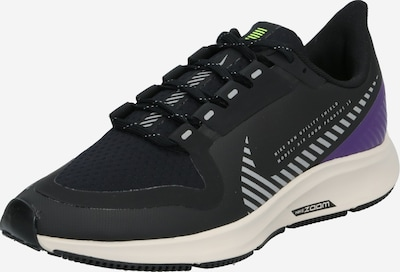 NIKE Laufschuhe 'Air Zoom Pegasus 36 Shield' in silbergrau / lila / schwarz, Produktansicht