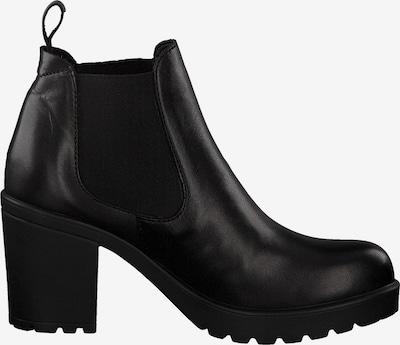 Chelsea batai iš s.Oliver , spalva - juoda: Vaizdas iš šono