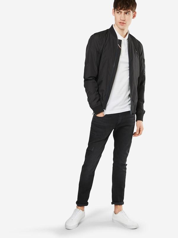 Pique S 'tjm Original s' Tommy Jeans En shirt Fine T Blanc xrdBEeQCoW