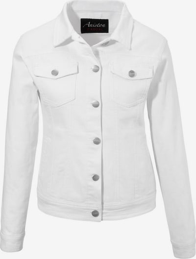 Aniston CASUAL Jeansjacke in white denim, Produktansicht
