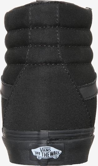 VANS Sneaker 'SK8-HI' in schwarz: Rückansicht