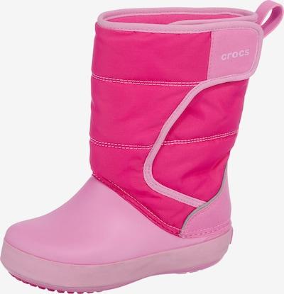 Crocs Winterstiefel in rosa / neonpink, Produktansicht
