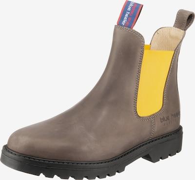 Blue Heeler Chelsea Boots 'Meryl' in gelb / grau, Produktansicht
