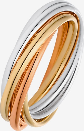 CHRIST Ring in gold / rosegold / silber: Frontalansicht