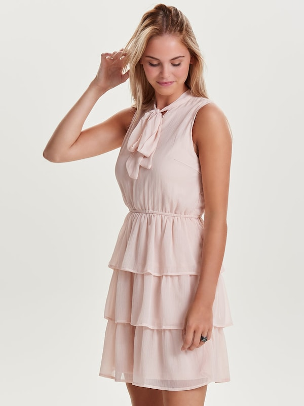 Only Ruffles-dress Without Sleeves