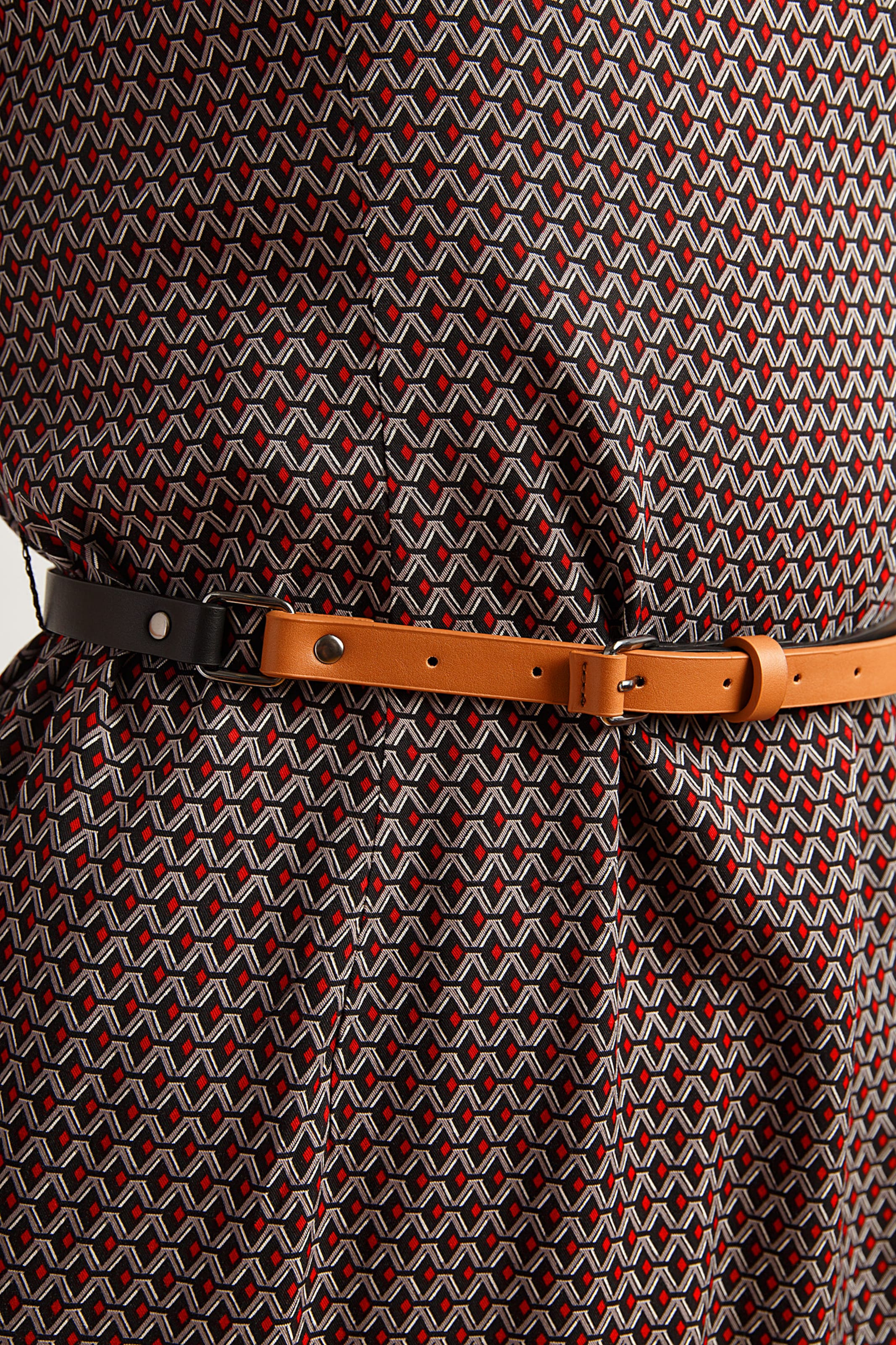 Flare Finn Finn Kleid Kleid MischfarbenSchwarz Flare In tsQrCxdh