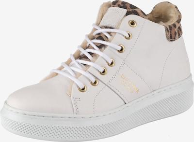 BULLBOXER Sneaker in braun / dunkelbraun / weiß, Produktansicht