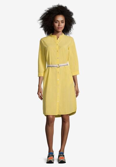 Cartoon Blusenkleid in gelb, Modelansicht