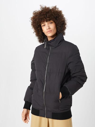 DREIMASTER Jacke in schwarz: Frontalansicht