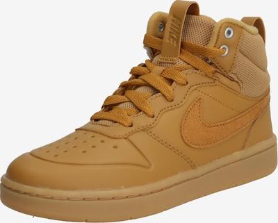 Sportbačiai 'Court Borough Mid 2 Boot' iš Nike Sportswear , spalva - ruda: Vaizdas iš priekio