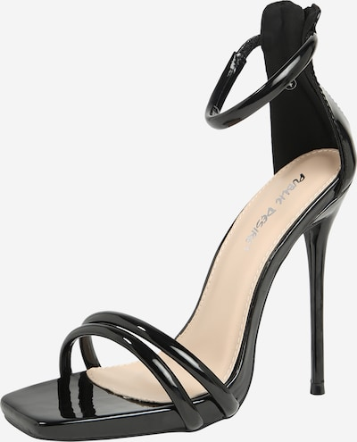 Public Desire Sandale 'MAINSTREAM' in schwarz, Produktansicht