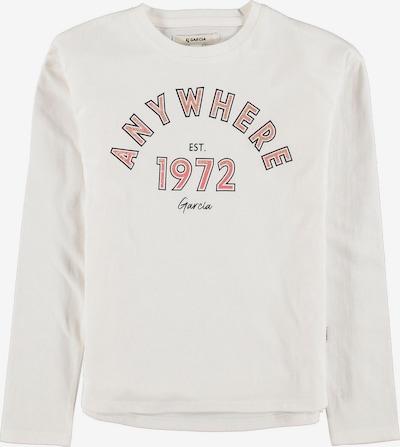 GARCIA Shirt in rosa / weiß, Produktansicht