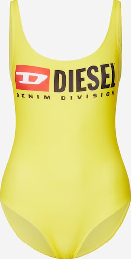 DIESEL Bademode 'BFSW-FLAMNEW' in gelb: Frontalansicht