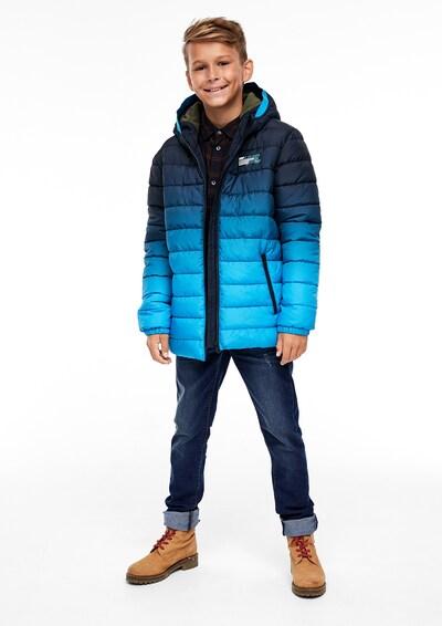 s.Oliver Jeans in blue denim: Frontalansicht