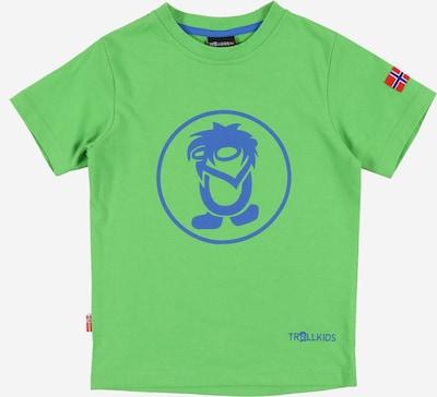 TROLLKIDS Funkční tričko 'Troll' - modrá / světle zelená, Produkt