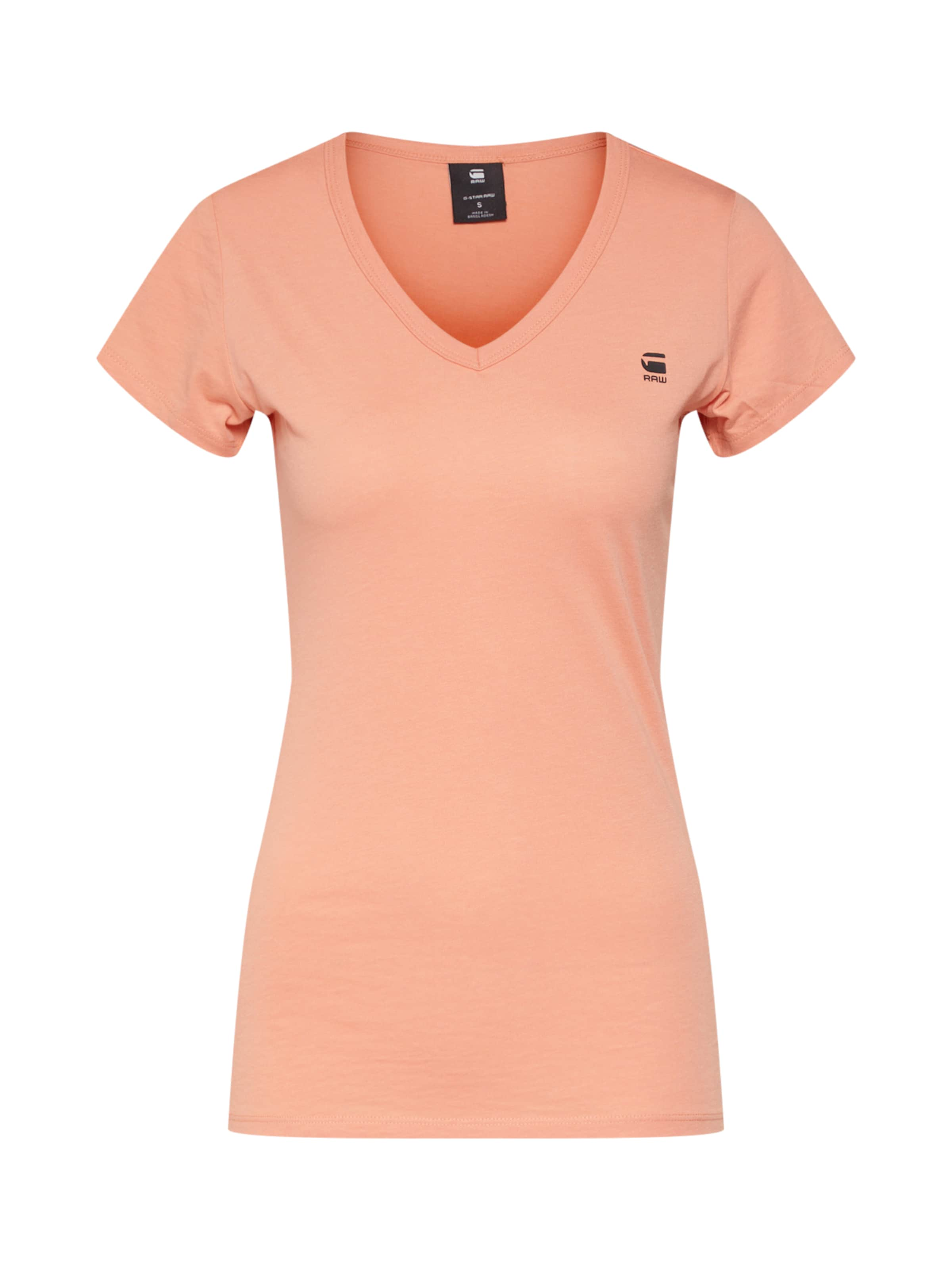 'eyben Raw shirt En V' star T Pastel Orange G PkZOTXiu