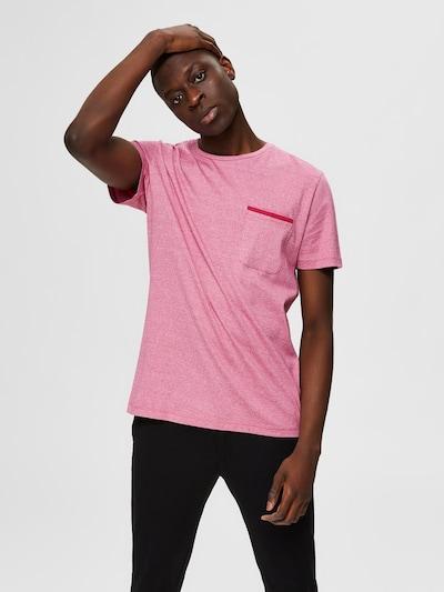 SELECTED HOMME Shirt in de kleur Roze gemêleerd: Vooraanzicht