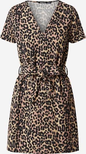 Boohoo Kleid in braun / schwarz, Produktansicht