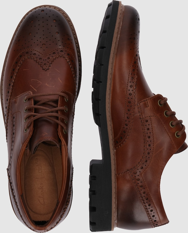 CLARKS CLARKS CLARKS Full Brogue-Derby 'Batcombe Wing' 98ba76