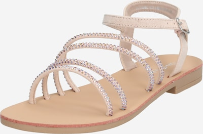 Miss Selfridge Sandale 'EVIE' in nude: Frontalansicht