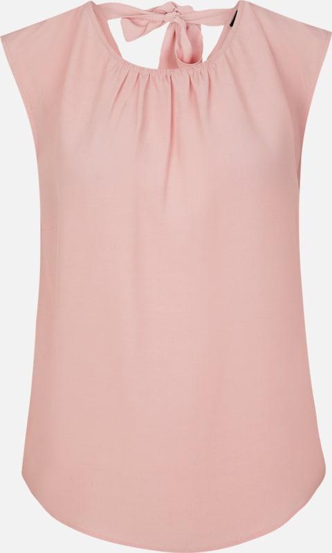S.Oliver schwarz LABEL Blausentop in altRosa  Markenkleidung für Männer und Frauen