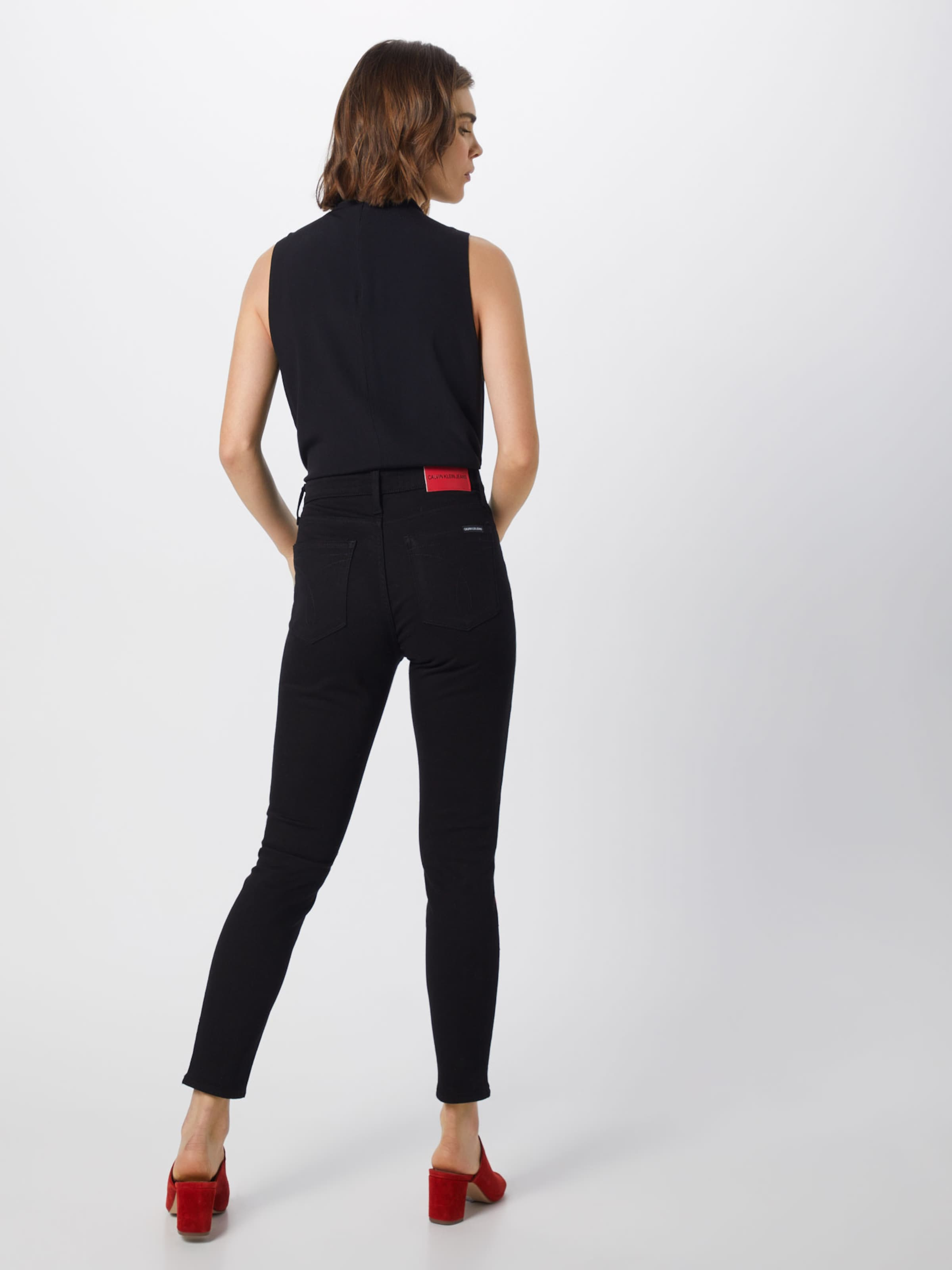RotSchwarz Jeans Calvin Calvin Klein In QhtsrdC