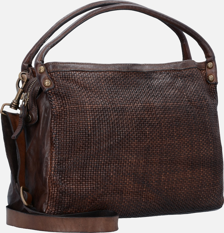 Campomaggi Edera Handtasche aus Leder 37 cm