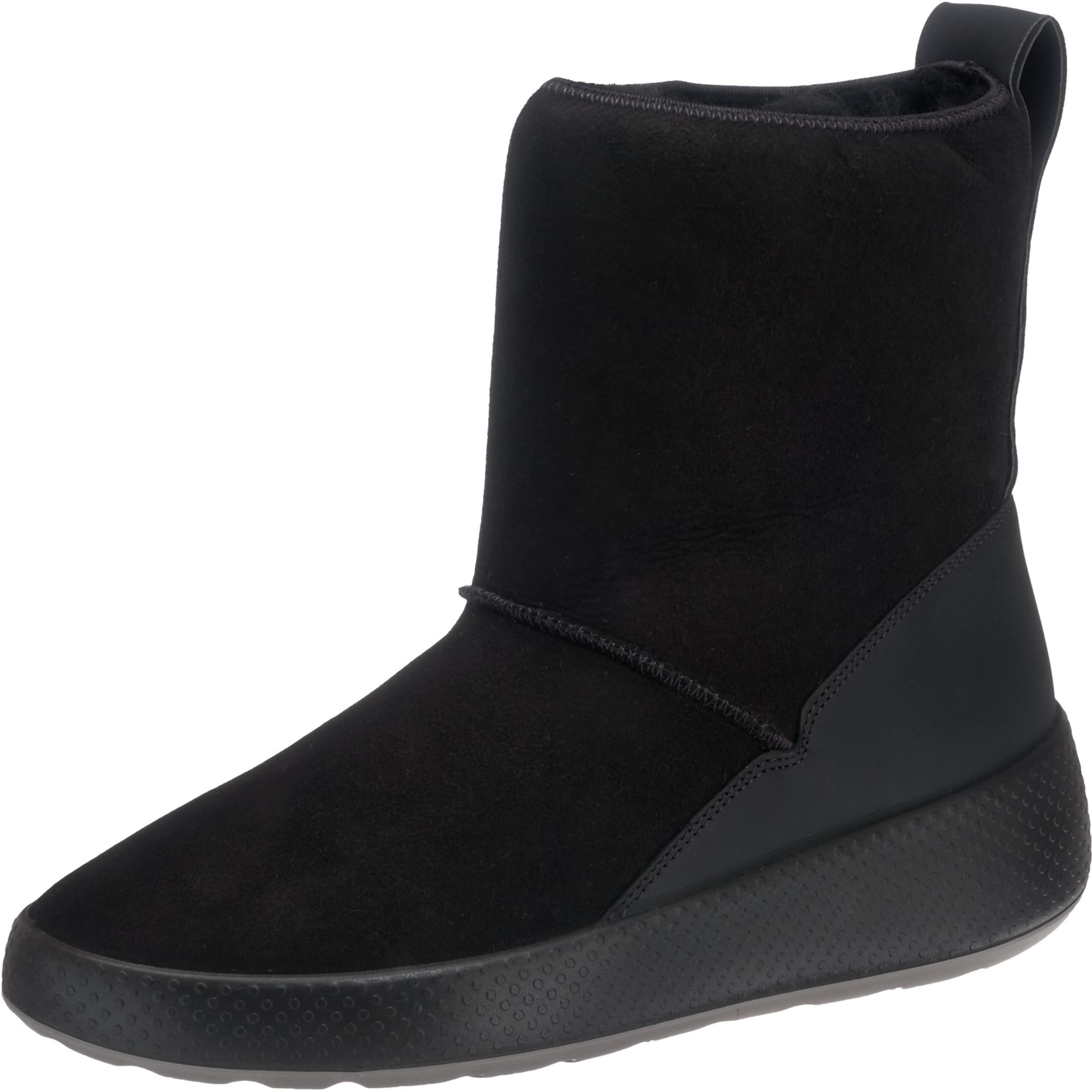 ECCO Stiefel 'Ukiuk' in schwarz
