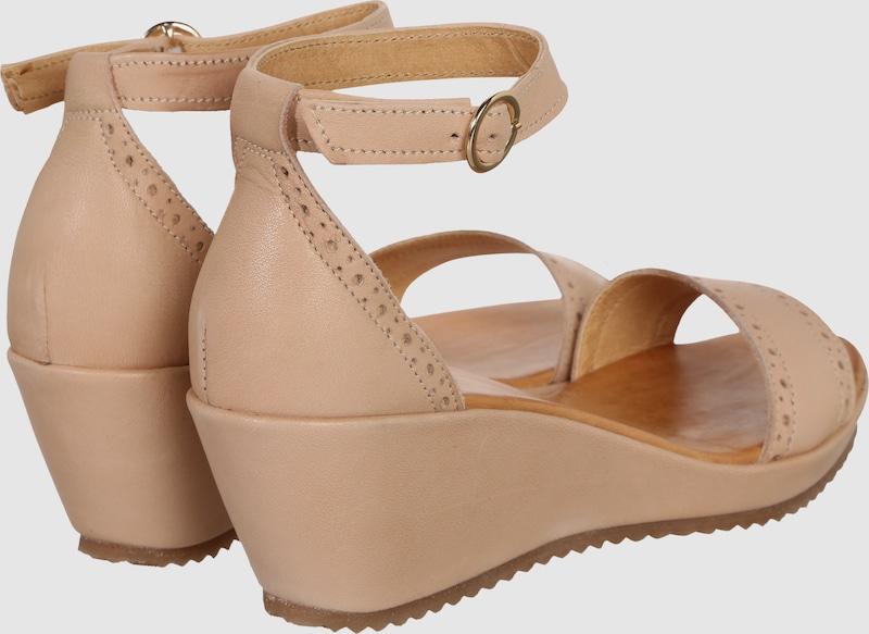 Apple of Eden Keil-Sandalette Menina Hohe Qualität