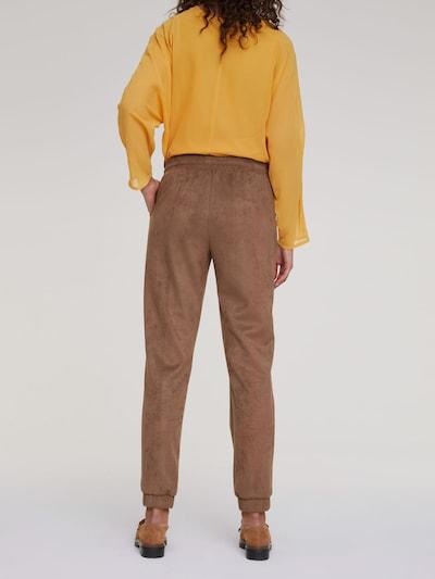 Kelnės iš heine , spalva - šokolado spalva: Vaizdas iš galinės pusės