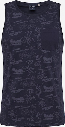 s.Oliver Shirt in dunkelblau, Produktansicht